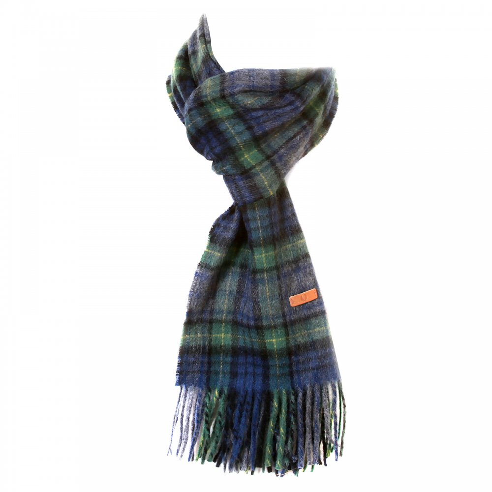 buy stylish blue green new knitted mens scarf