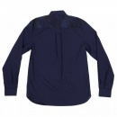 FRED PERRY Mens Regular Fit Button down Collar Long Sleeve Shirt in Medieval Blue