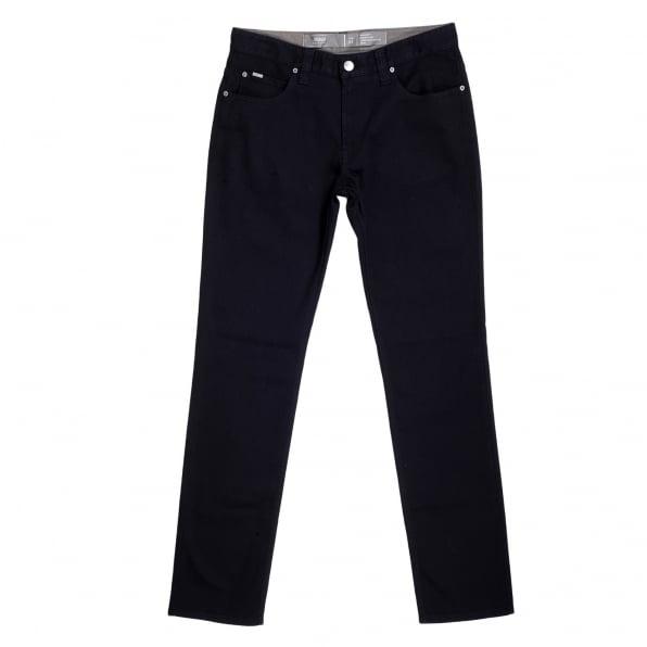 GIORGIO ARMANI Black Regular Fit Straight and Tight Leg Stretch Cotton J15 Denim Jeans