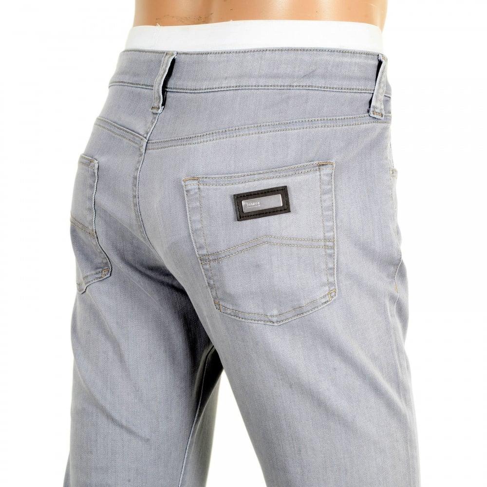 9af2a242 Slim Fit Low Waist Grey Jeans by Giorgio Armani