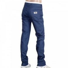 Mens Stretch Blue Slim Fit Denim Jeans