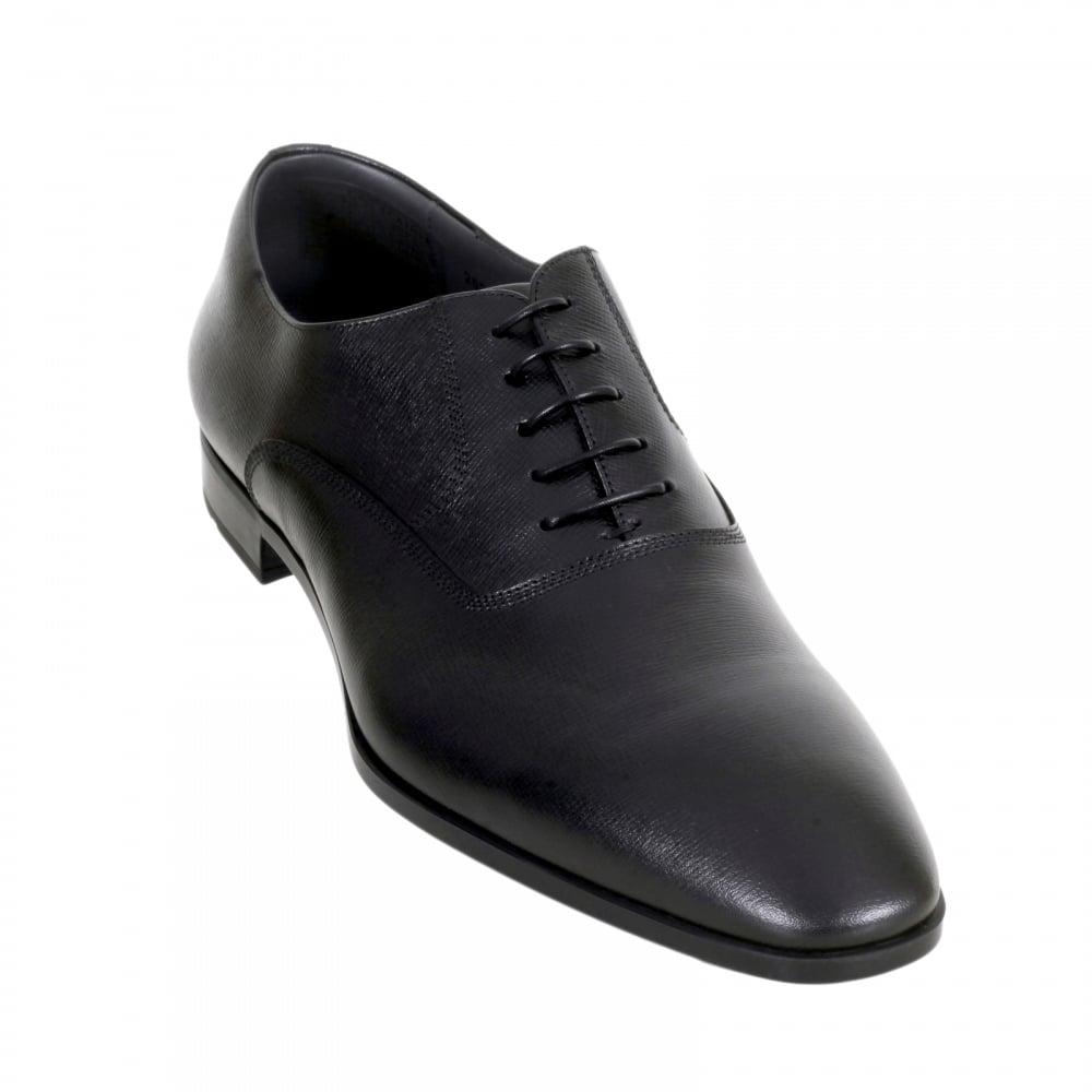 Chaussures Noires À Lacets Patron nGaO2