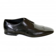 Borgue Frano leather shoes in Black