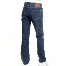 Kansas classic dark wash denim jean