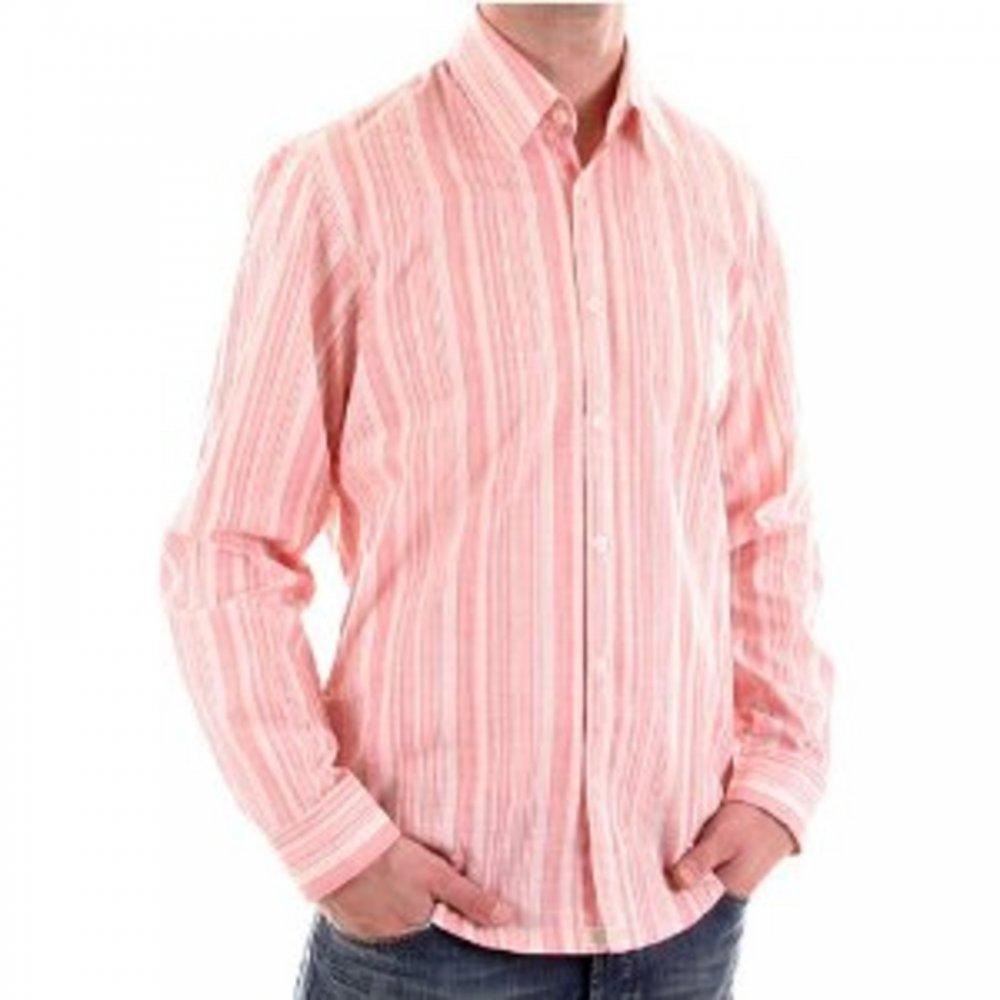 be4cb8524 Stylish long sleeved shirt for men in red. Buy Hugo Boss now   Niro