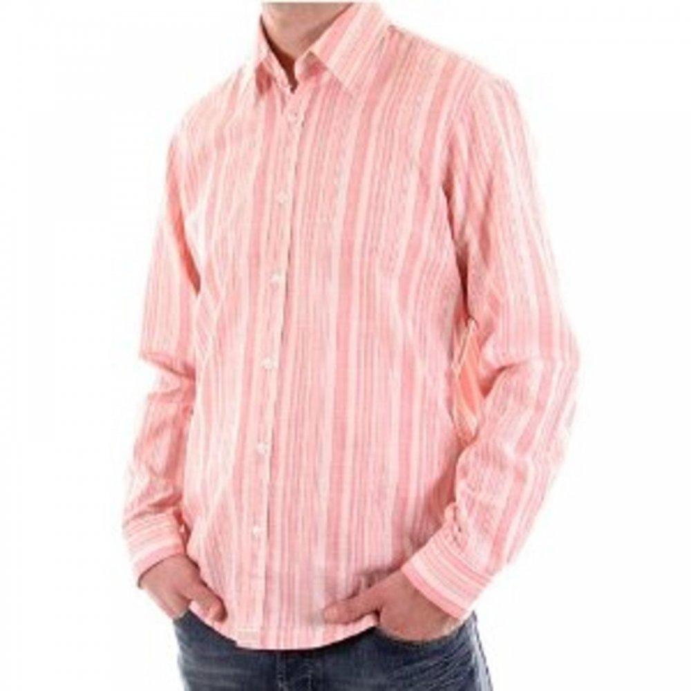 Stylish Long Sleeved Shirt For Men In Red Buy Hugo Boss