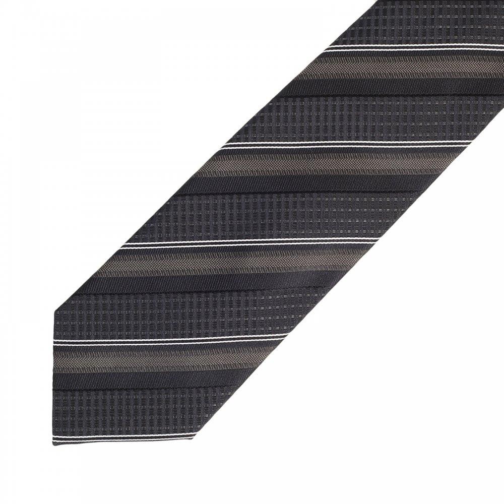 striped tie - Black HUGO BOSS 9uuJb0R3V0