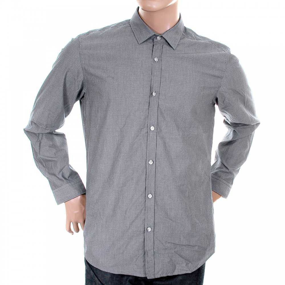 48f68e6e8 Shop for the Lorenzo blue striped shirt at Niro Fashion On-line shop