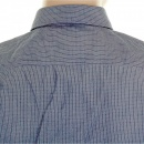 HUGO BOSS BLACK Mens blue Lorenzo woven long sleeve shirt