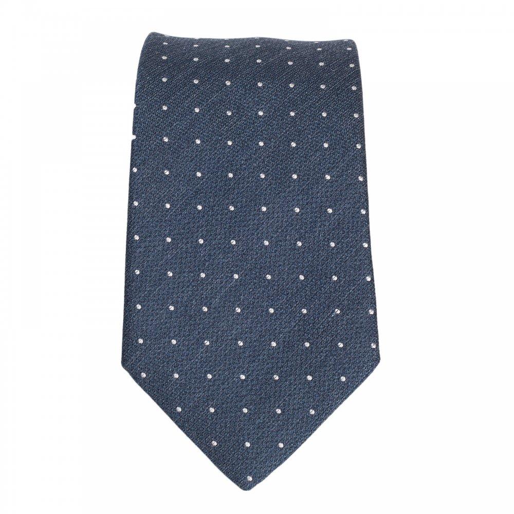 Micro-dot tie in pure silk HUGO BOSS SvNNxSGI
