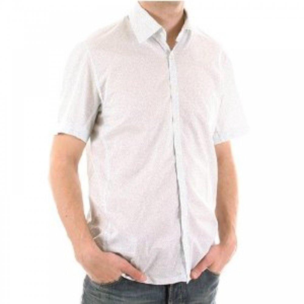 c3aba649 Trendsetting mens blue shirt from Boss Black by Hugo Boss, shop now