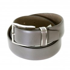 Mens Froppin Grey Leather Belt