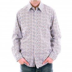 Mens long sleeve Jamie shirt