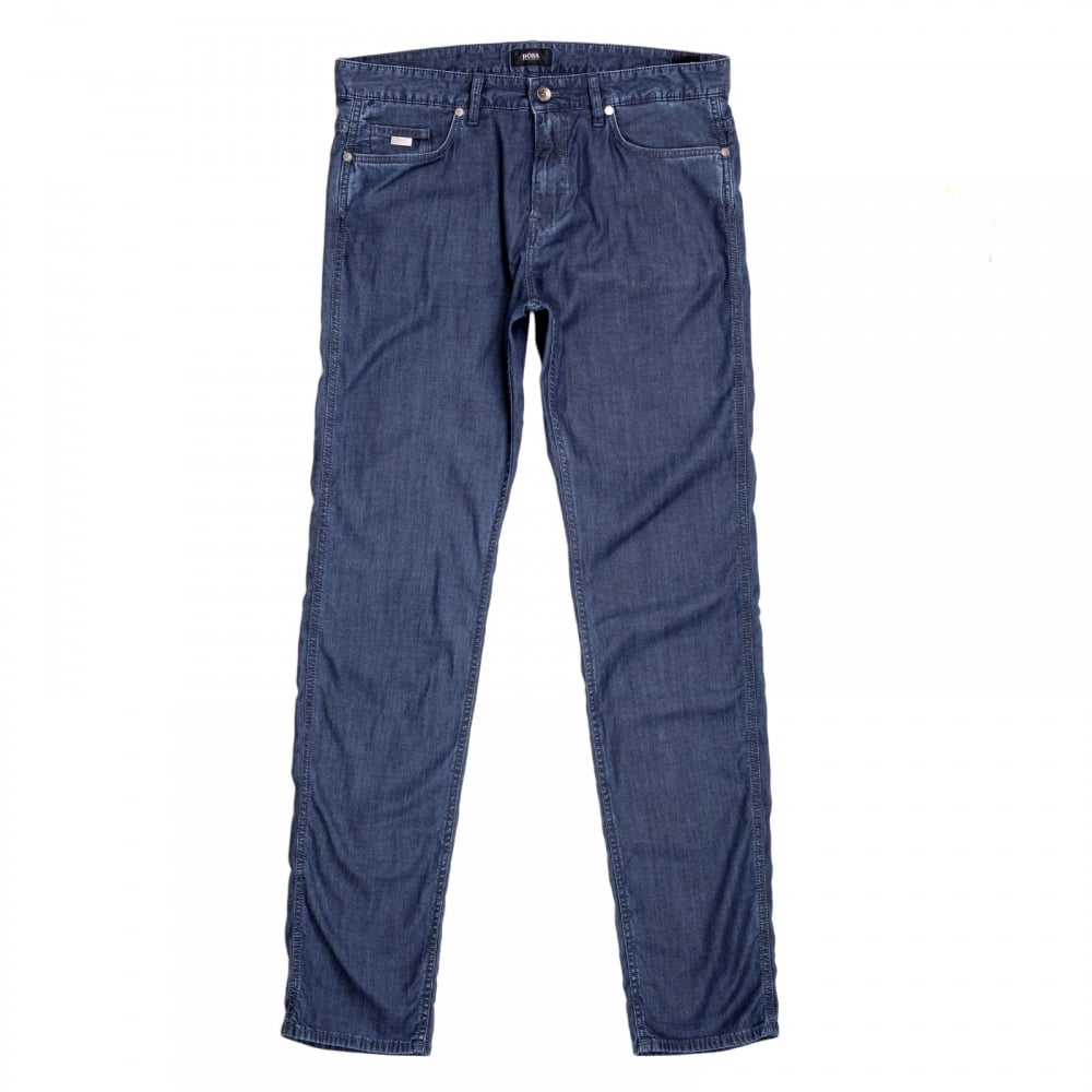 Skinny-fit jeans in stretch denim with zip detail HUGO BOSS Popular Online Buy Cheap Recommend JULgPk