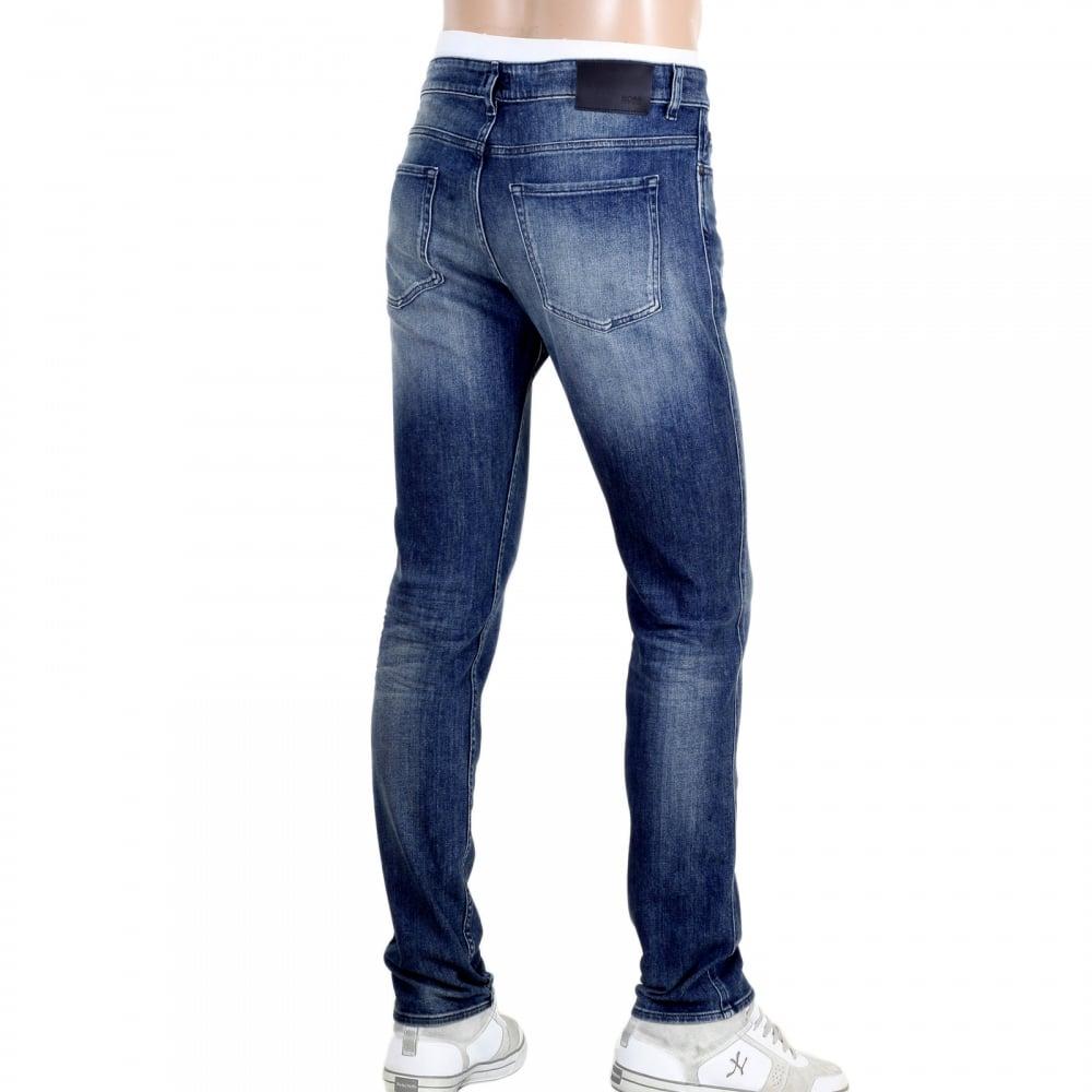 Mens Stonewashed Jeans