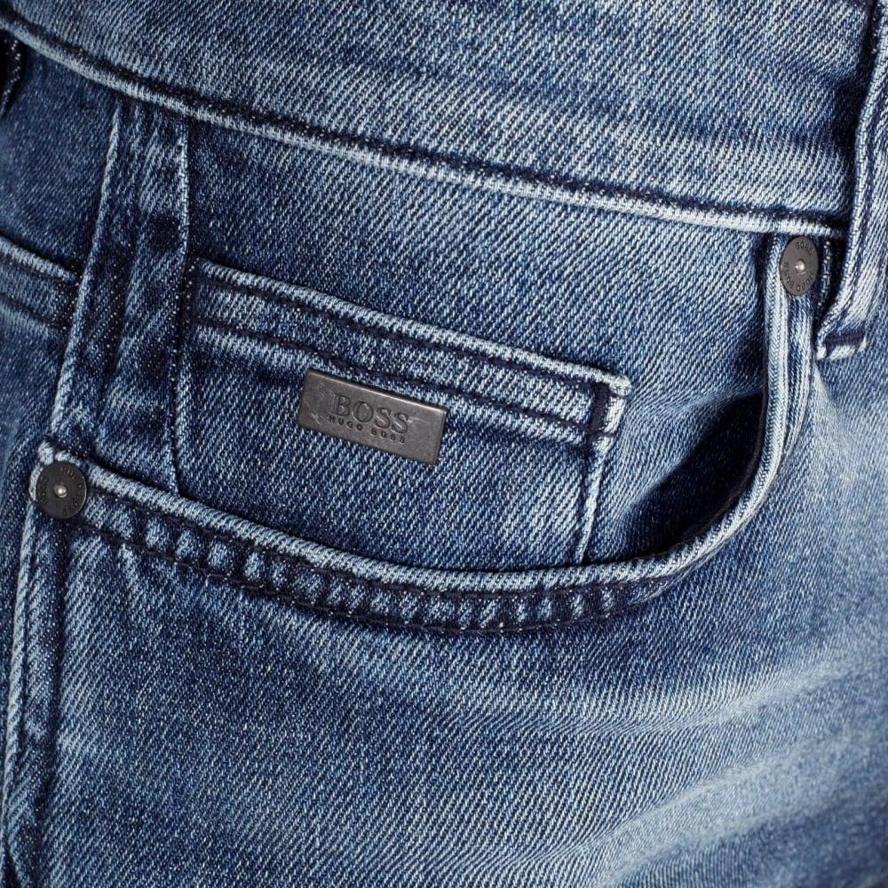 HUGO BOSS Jeans Slim Fit en denim stretch ih0Uc