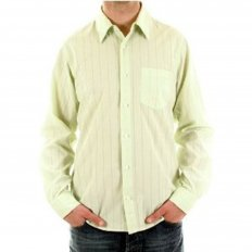 Pale green long sleeve shirt