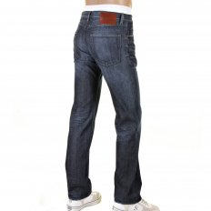 Scout1 worn finish denim jean