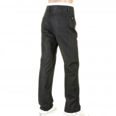 Texas washed black denim jeans