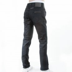 Casual Black Regular Fit Stretch Denim Jean