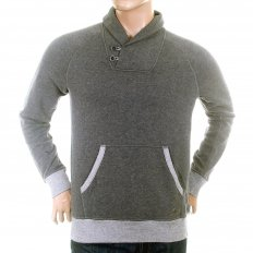 Light Grey Regular Fit Soft cotton mix Sweatshirt