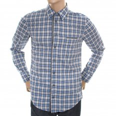 Mens Long Sleeve CielcebuE Check Shirt