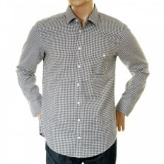 Mens Long Sleeve EgriffE Check Shirt