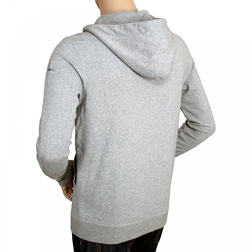 19b24af7a Get a stylish look with Grey hooded sweatshirt for men by Boss Orange