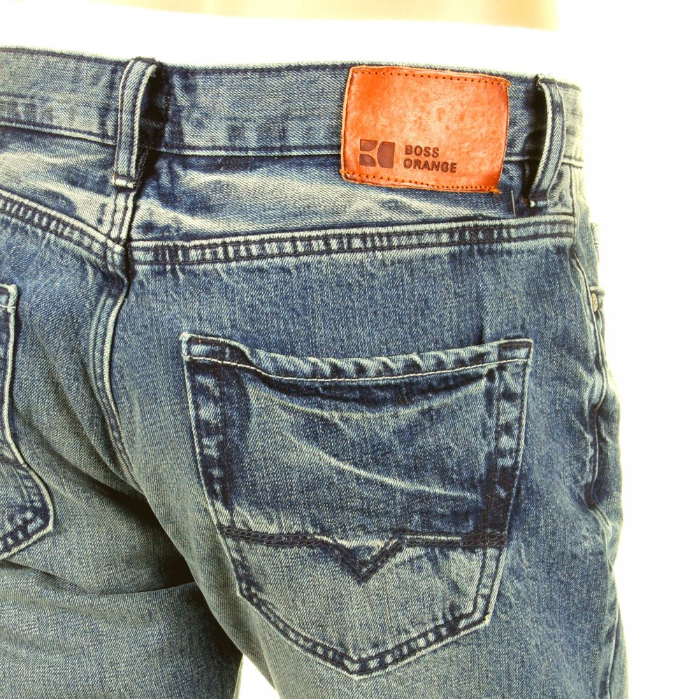 2379067a3e Exceptionel Buy a stylish look with Regular Fit Indigo Denim Boss Orange  Jeans SX79
