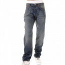 IJIN Depp vintage wash selvedge denim jeans