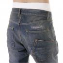 IJIN Depp vintage wash selvedge denim jeans
