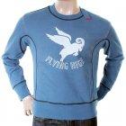 Flying high logo crew neck sweatshirt