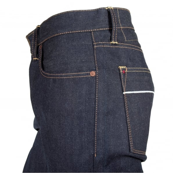 IJIN Little horn Japan weave dry denim jeans