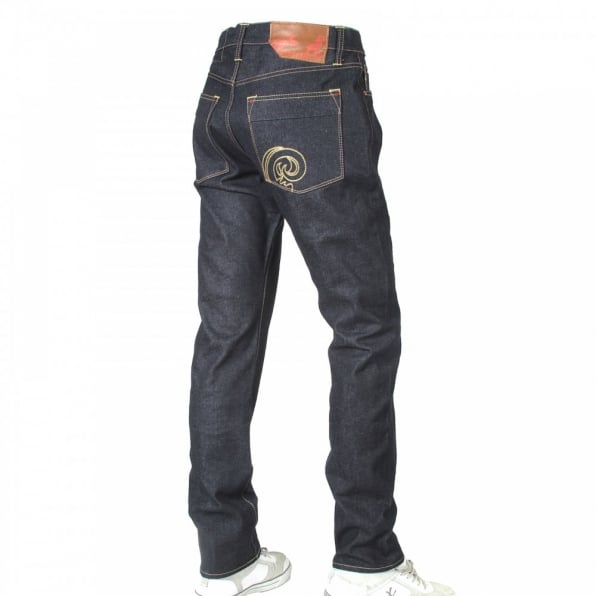 IJIN Little horn vintage dry denim jeans