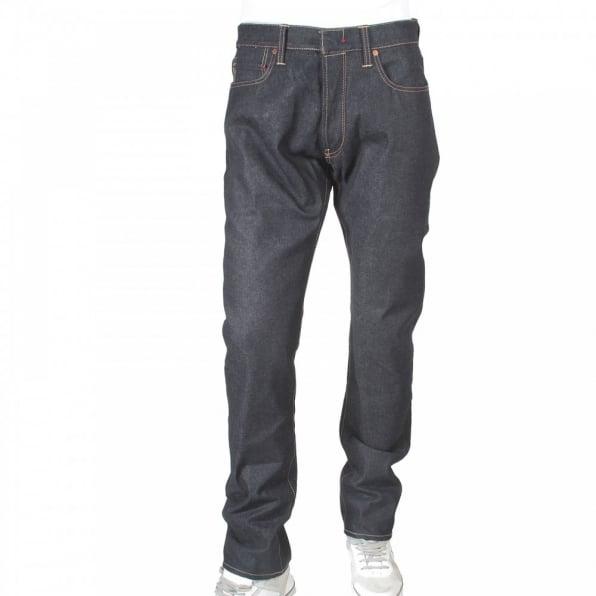 IJIN Little horn vintage dry denim jeans