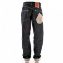 IJIN Non-Wash Dry Regular Fit Button Fly Denim Jeans