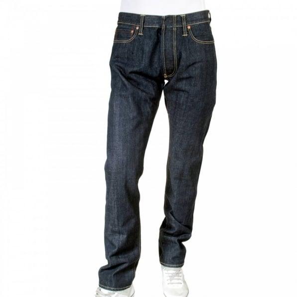 IJIN Red line slim leg selvedge denim jeans