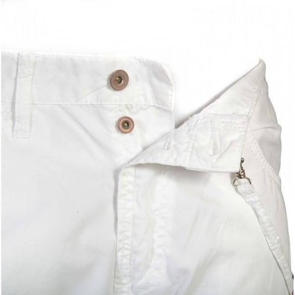IJIN Regular fit backstrap cotton jeans