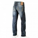 IJIN Sawtooth wytte wash denim regular fit jeans