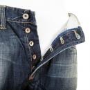IJIN Sawtooth wytte wash denim regular fit jeans