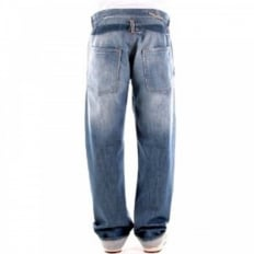 Screw Washed Miners Regular Fit Denim Jeans