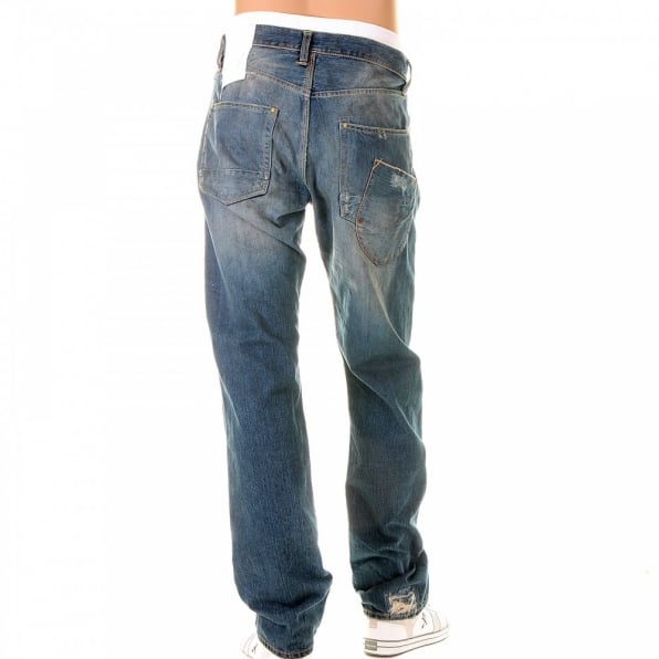 IJIN Skinnt vintage wash classic fit denim jeans