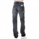 IJIN Slitha extreme wash selvedge denim jeans