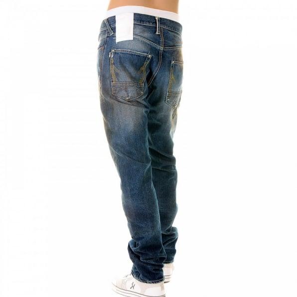 IJIN Verrt wash classic regular fit denim jeans