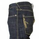 IJIN Wrap leg rinsed regular fit denim jeans