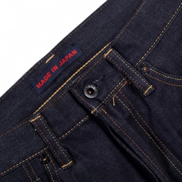RMC JEANS Japanese Selvedge Indigo Raw Slim Fit ORJ Machine Denim Jeans