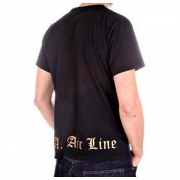 LA AIR LINE Black Bandido Short Sleeve T-shirt
