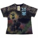 LA AIR LINE Dance Black T shirt