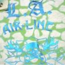 LA AIR LINE Dance White T shirt