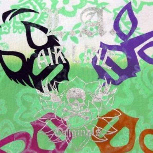 LA AIR LINE Masked T shirt